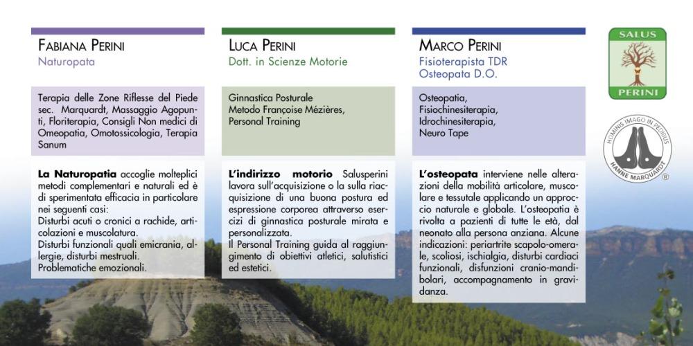 Informazioni sul centro Salusperini di Riano (Roma)