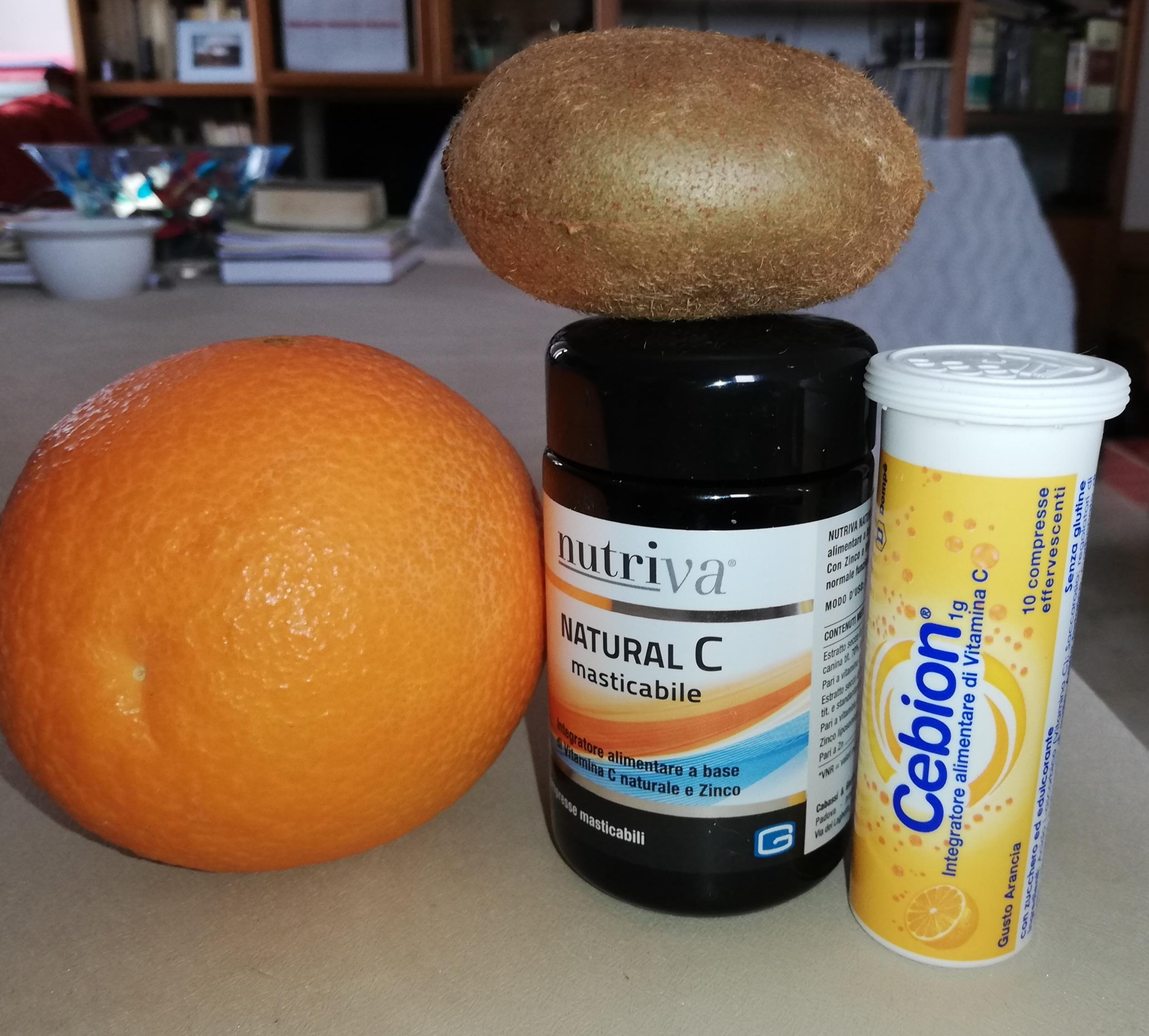 Prodotti con vitamina C